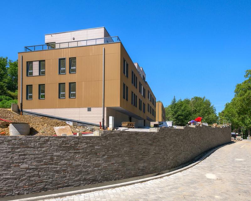 ©LViatour - Vue Façades nouveau bâtiment