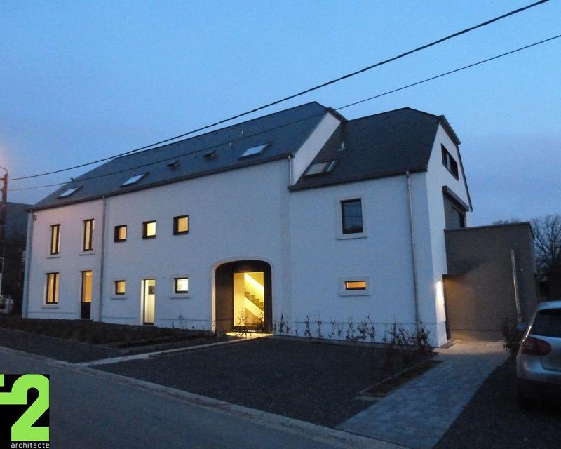 Transformation r novation d 39 une ancienne ferme le week for Architecte renovation ferme