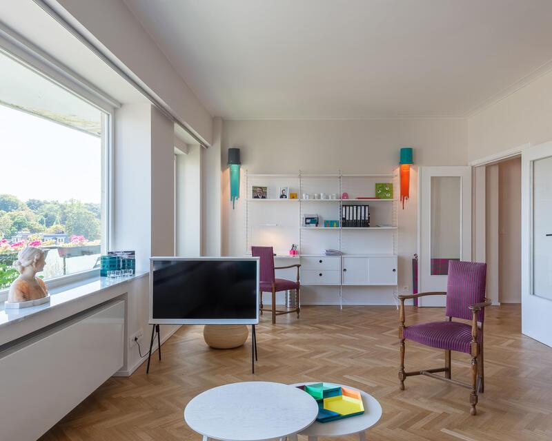 séjour: espace salon / bureau