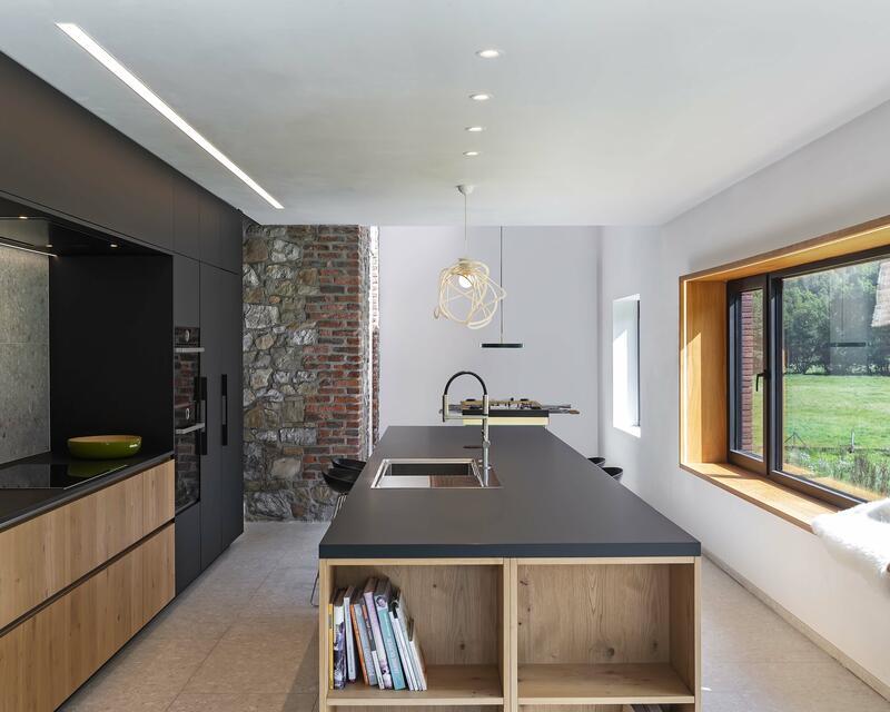 Vue intérieure cuisine - photographe: Laurent Brandajs