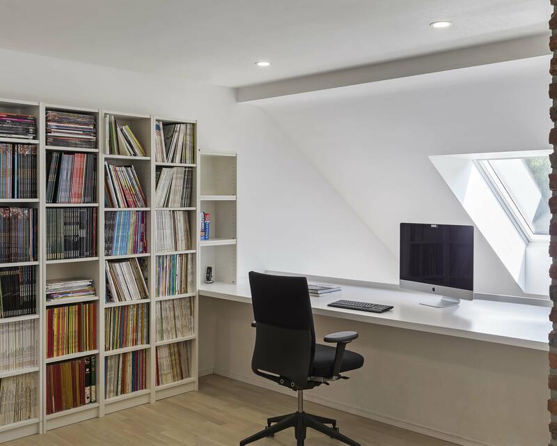 Vue intérieure bureau - photographe: Laurent Brandajs
