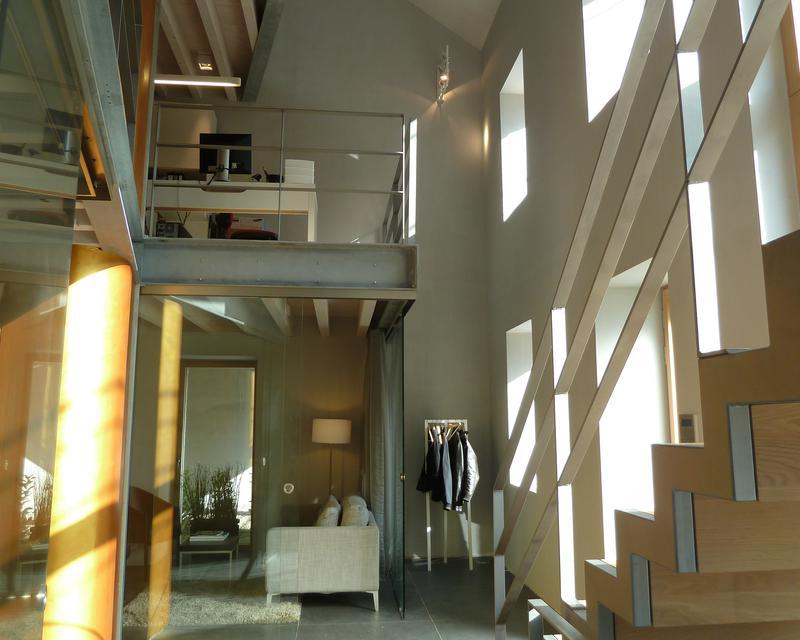 R novation d 39 une maison en bureau loft passif et ou maison loft passive - Maison passive renovation ...