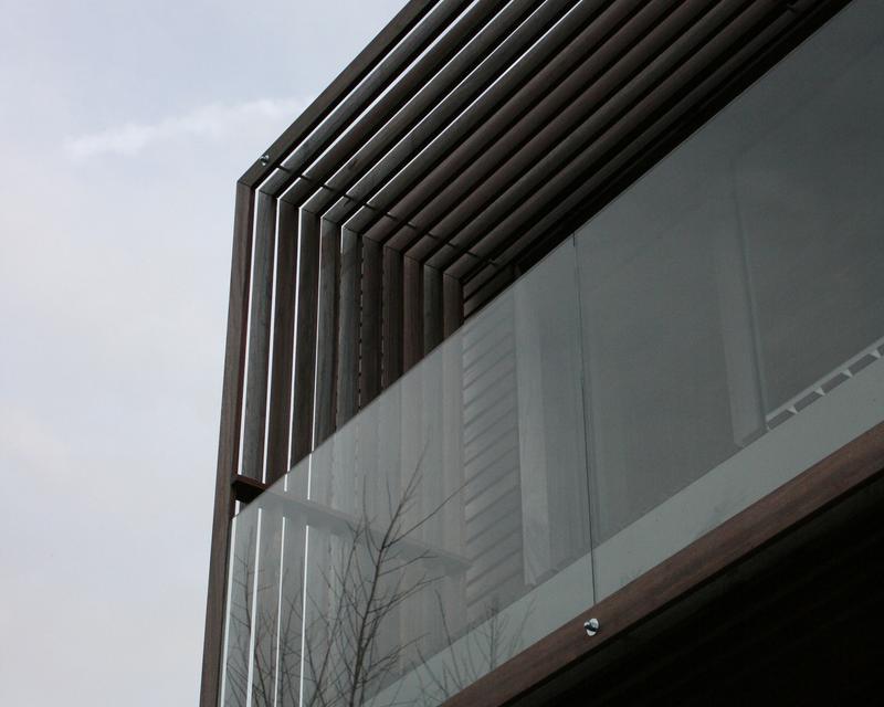 Spectaculaire balcon