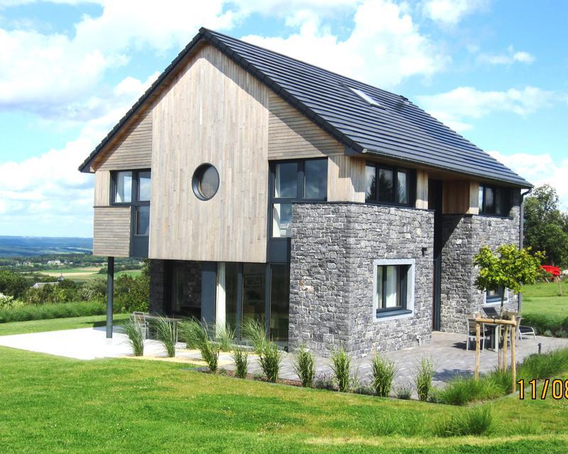 Architecte maison passive maison passive joucas une for Architecte maison passive