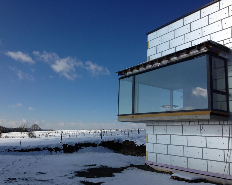 Maison d 39 habitation et bureau d 39 architecture le week end for Architecture contemporaine definition