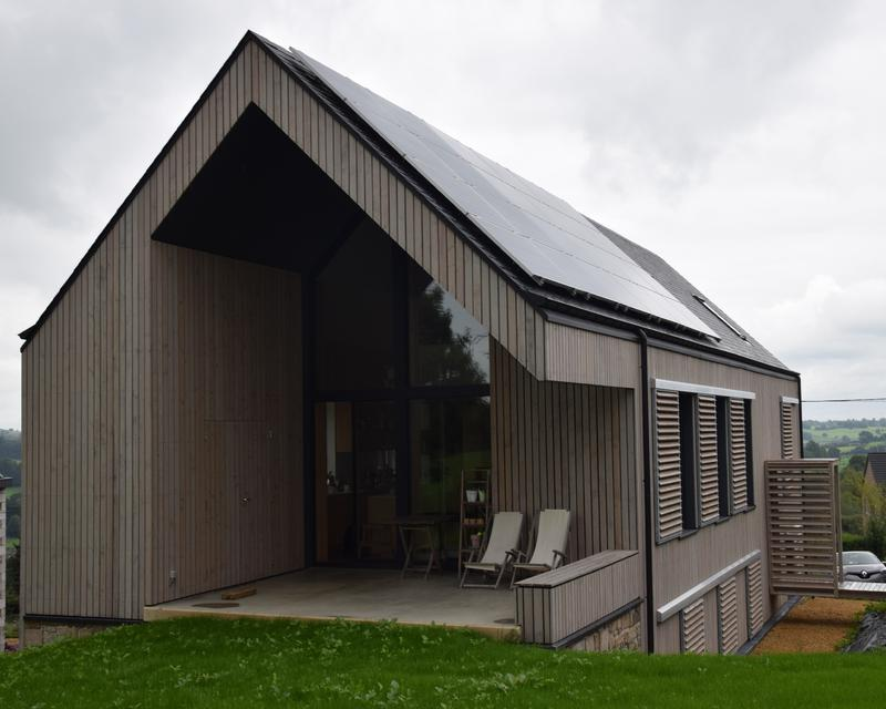 Maison passive b timent exemplaire le week end maisons for Architecte maison passive